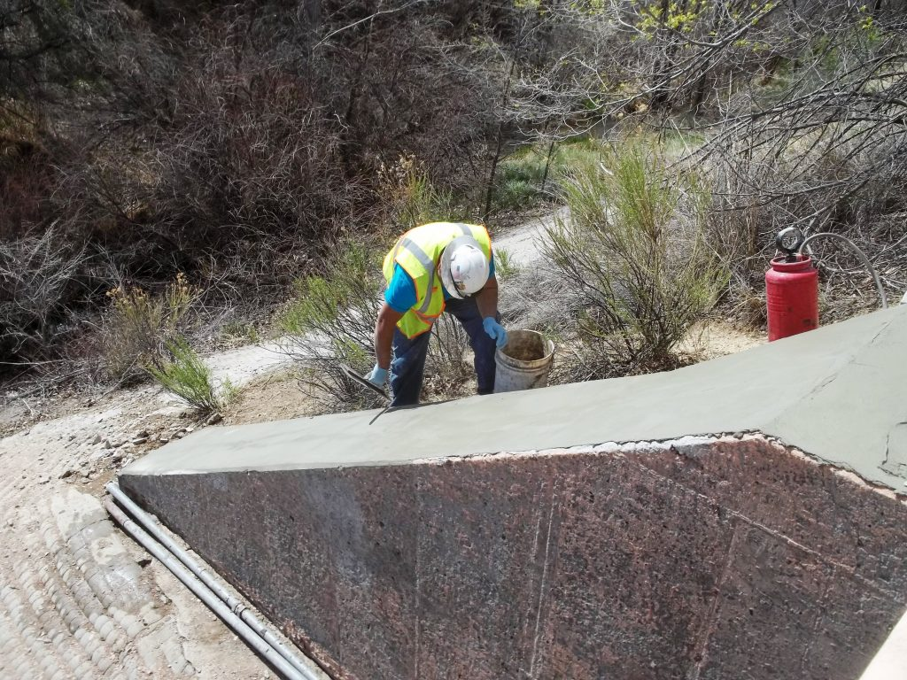 shotcrete project in colorado